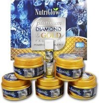 NutriGlow (Platinum, Diamond & Gold Facial Kit ) 250 g