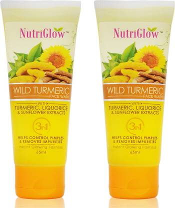 NutriGlow Wild Turmeric Face Wash� Pack of 2