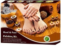 NutriGlow Skin Radiance Hand and Foot Polishing Kit 250g