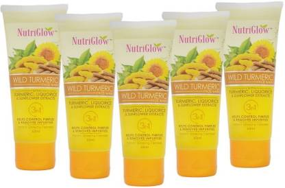 NutriGlow Wild Turmeric Face Wash� Pack Of 5