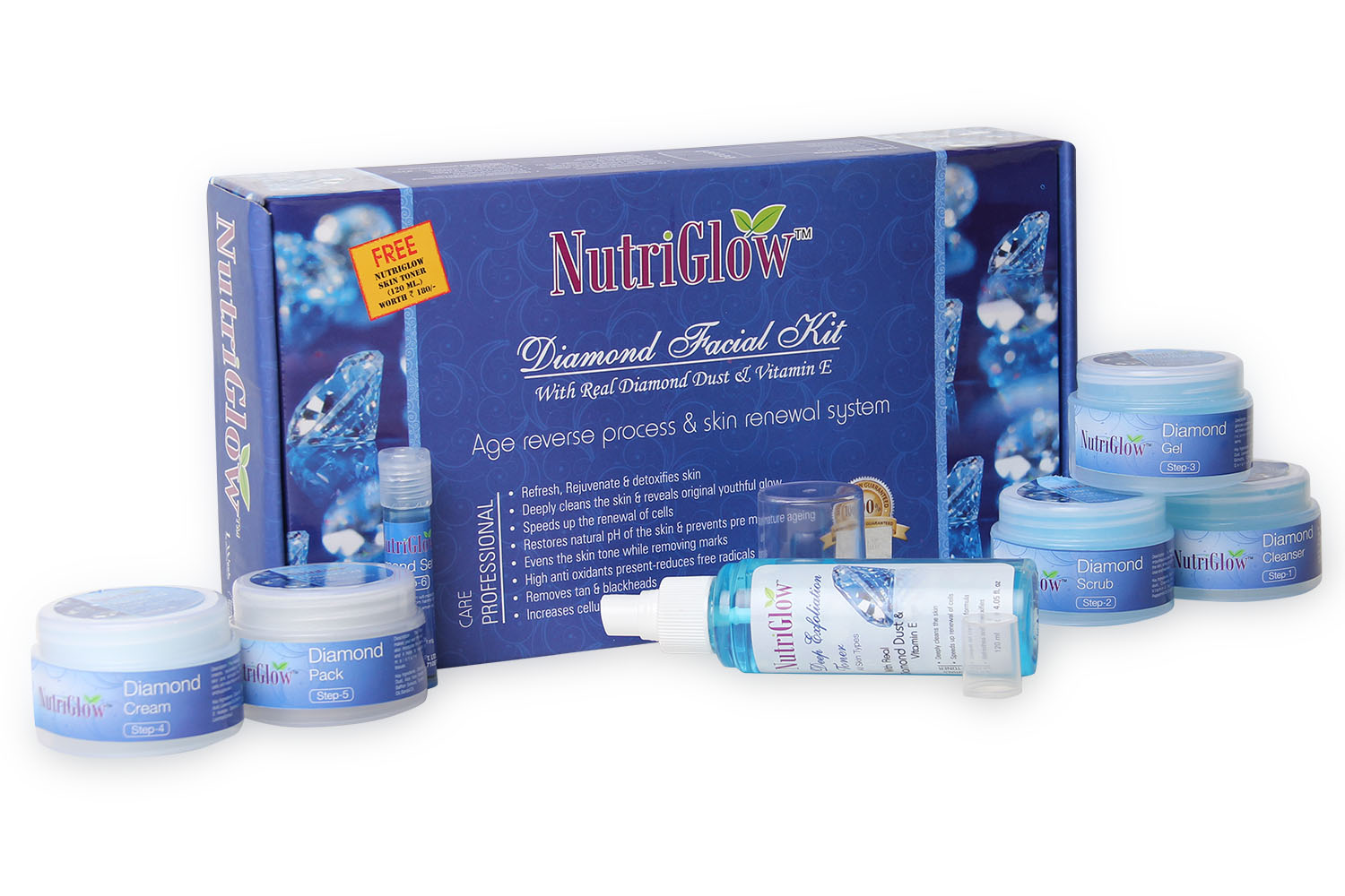 NutriGlow Diamond Facial Kit _310 GM