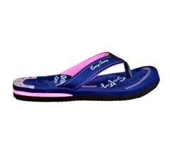 Crazy Bunny Womens Purple Casual Slippers