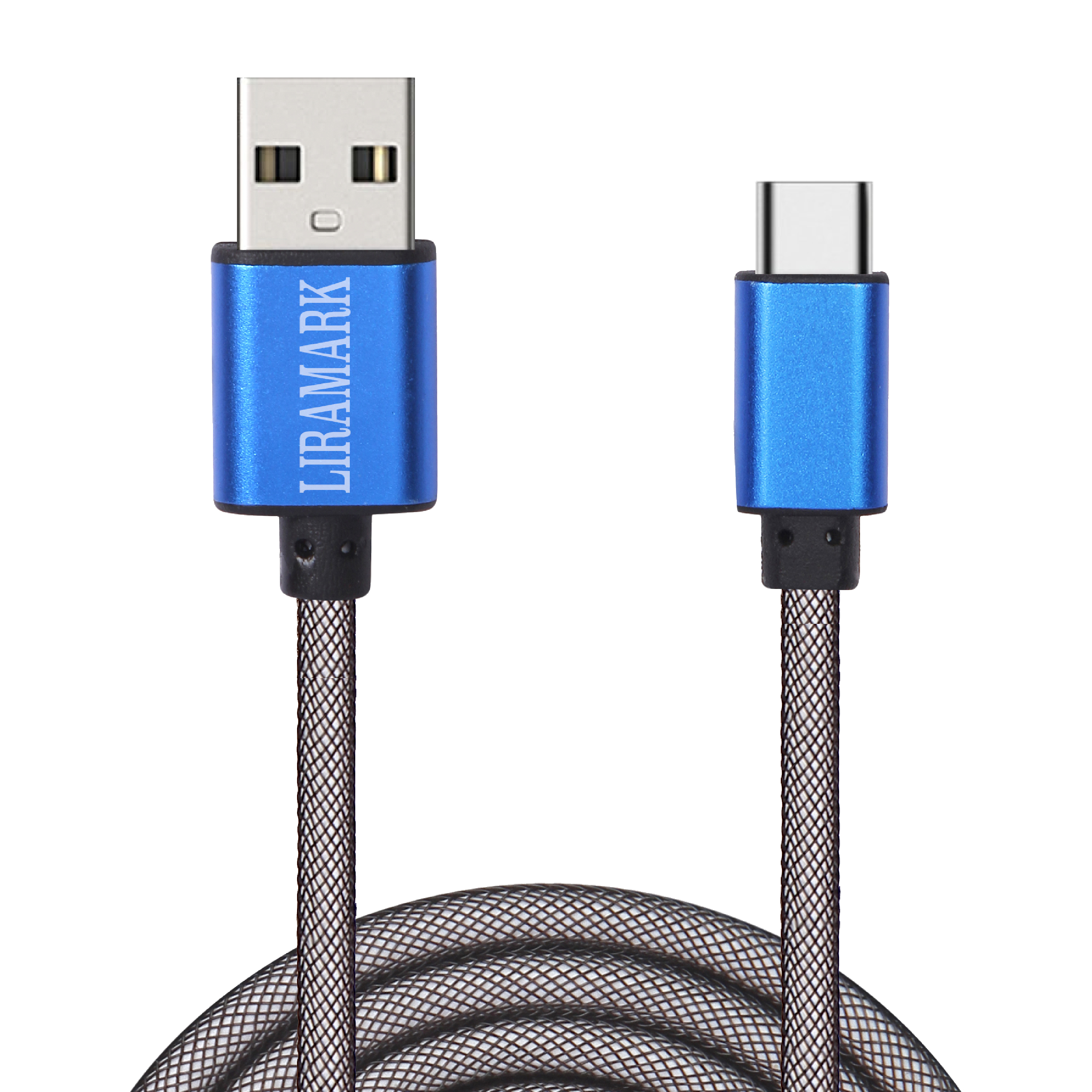 LIRAMARK Unbreakable Tough USB Type C Data Cable for Fast Charging with VOOC/Dash Charging