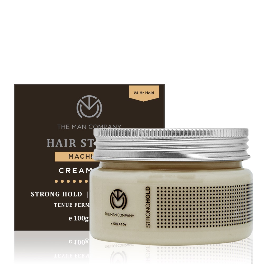 The Man Company Strong hold cream wax - Machismo (100 gm)