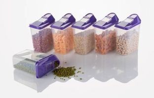 Home Turf Easy Flow Container 750 ML Set - 6 Pcs - Violet