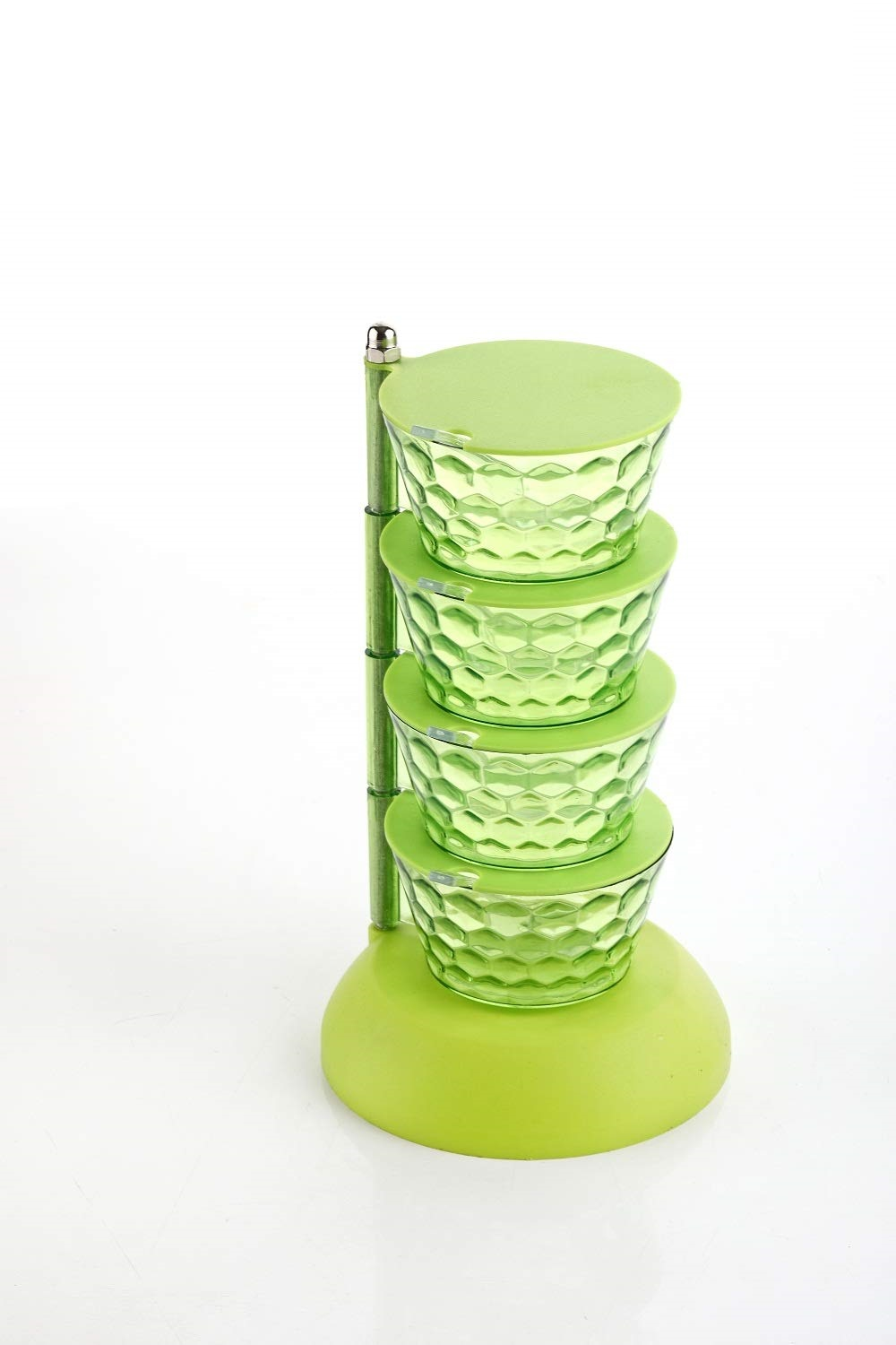 Home Turf Pickle Tower Container Set - Green