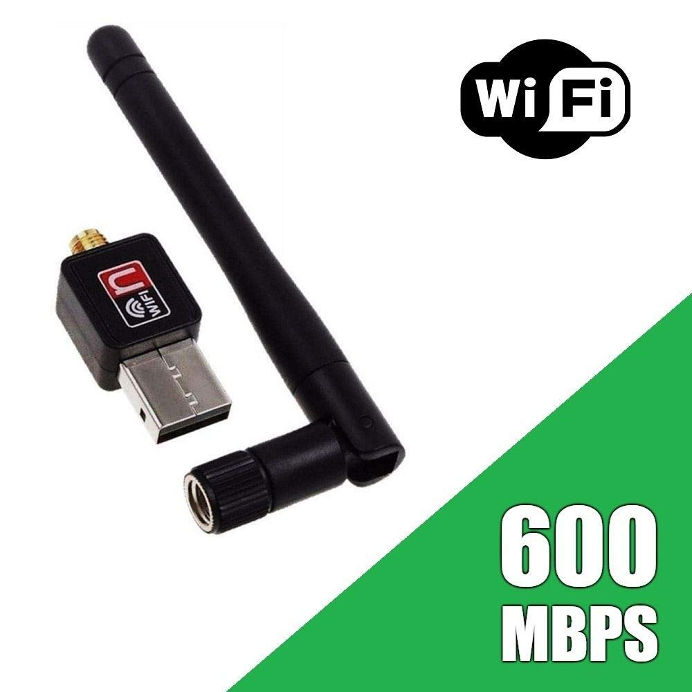600Mbps USB WiFi Dongle 600Mbps Wireless Adapter 802.11N/G/B with Antenna