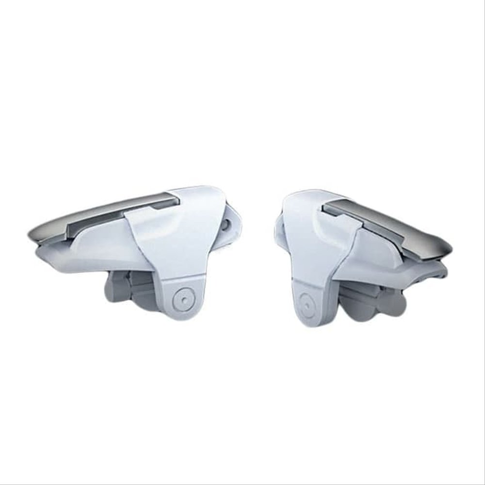 Freckle White Shark PUBG Trigger Controller for Shooting and Aim Gaming With K1 Bluetooth Wireless Headset NoiseCanceling Headset