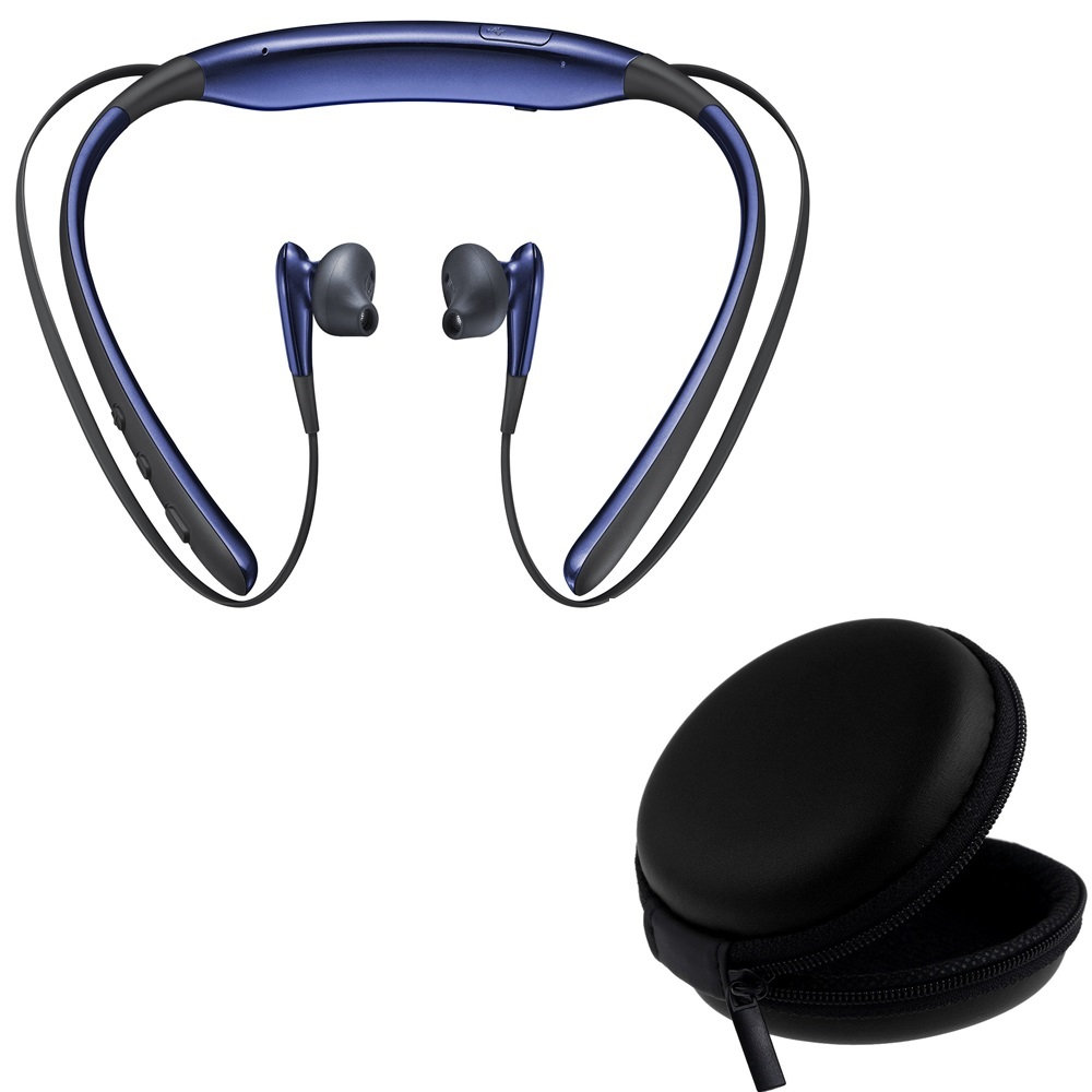 Rednix Level-U Wireless Bluetooth Headsets in-Ear Handfree Headphones With Pouch Case for Earphones Memory Card Data Cable