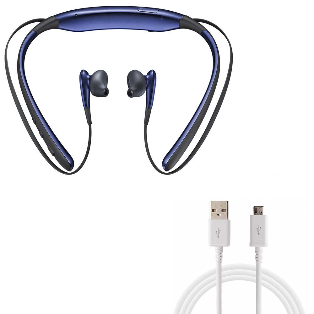 Rednix Level-U Wireless Bluetooth Headsets in-Ear Handfree Headphones With Fast Charging USB Data Cable v8 Micro USB Cable