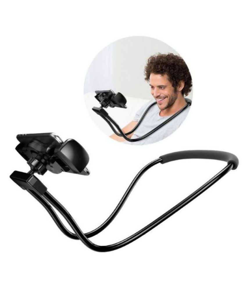 Rednix Lazy Neck Phone Support, 360 Degree Rotation Flexible Multi-Function Creative Mobile Phone Holder All For Smartphones