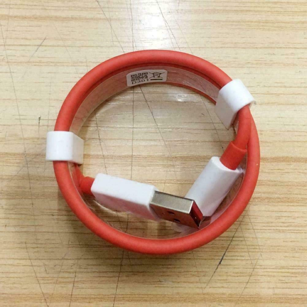 Rednix Dash Charge Cable 5v 4a Warp Charging Cable USB Type C Cable, Long USB Type-C Dash Charging Cable (Red)