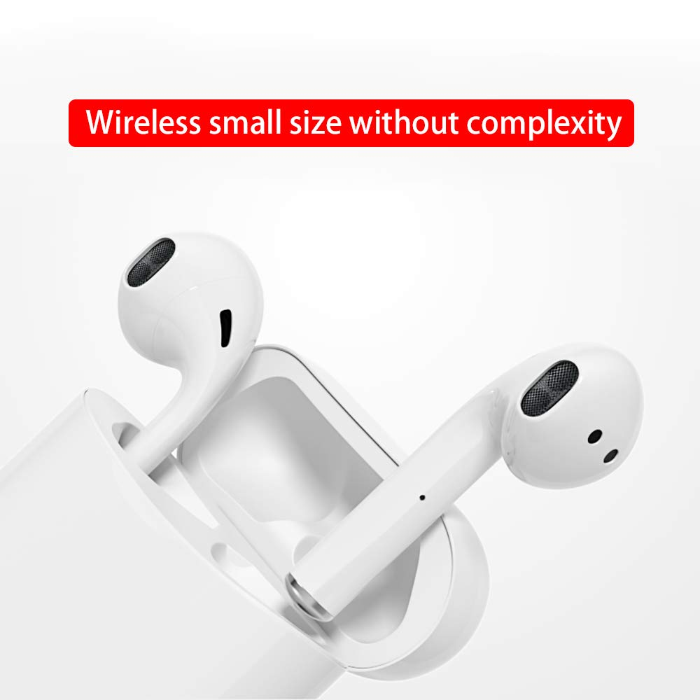 Rednix i12 TWS Wireless Earphone with Portable Charging Case Supporting Sensor with Great Performance