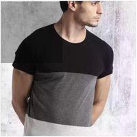 Grabin Multi-Coloured Stylish Half Sleeve T-Shirt's for Men's