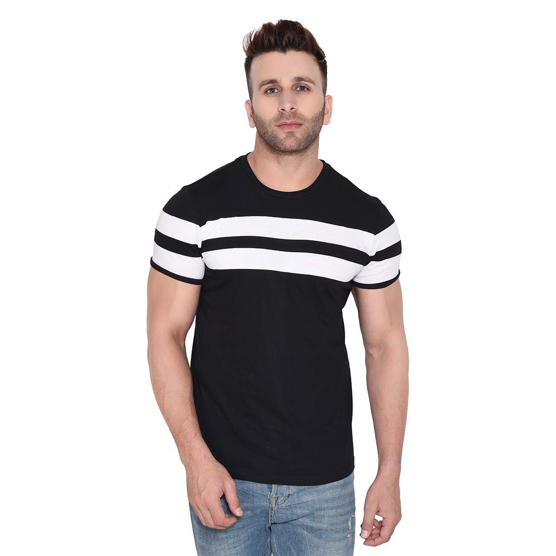 GRABIN Awesome black colour T-shirt for Men's