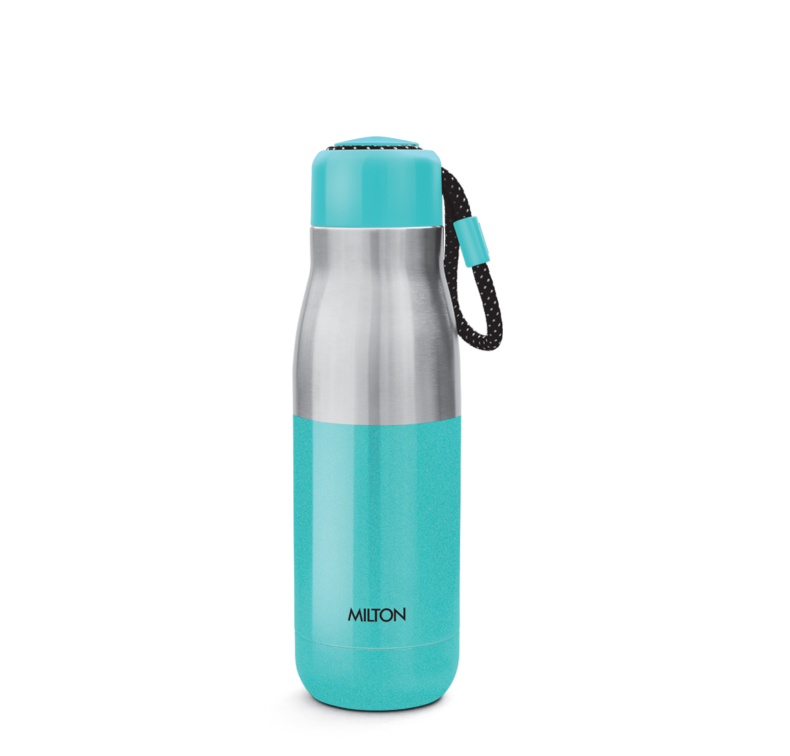 Milton EMINENT-600 Thermosteel Vacuum Insulated Stainless Steel Hot & Cold Water Bottle, 517 ML, White