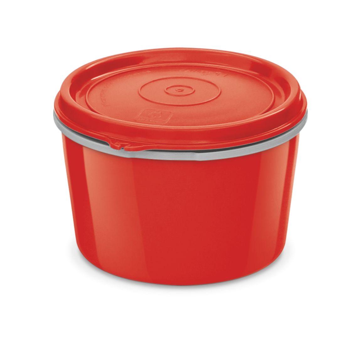 Milton Microwow Tiffin 500 Microwave Safe Inner Steel Container 500 ml Red