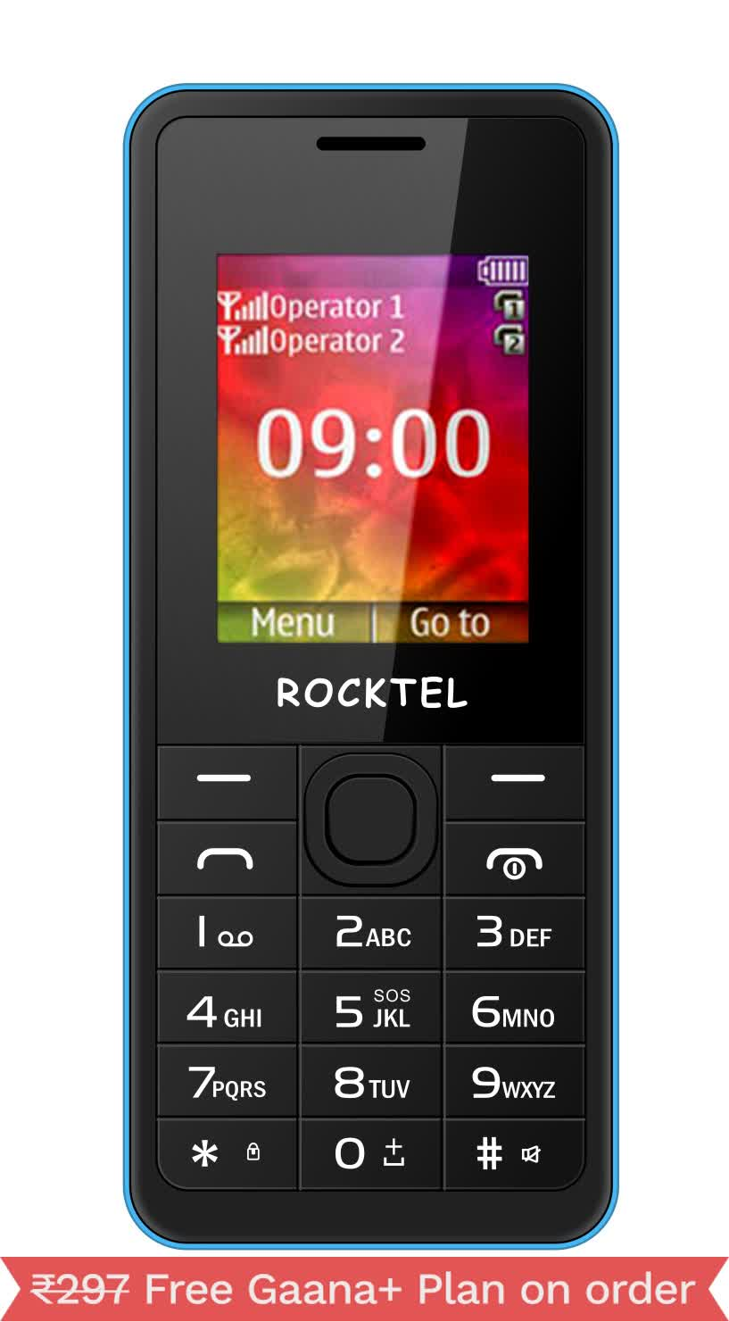 "ROCKTEL W14 DUAL SIM MOBILE PHONE 1.8"""" DISPLAY 800 mAh BATTERY"