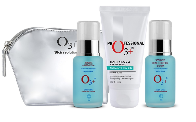 O3+ Ban Acne Home Care Kit with Beauty Bag, 150g