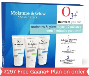 O3+ Shine & Glow Home Care Kit for Brightening & Whitening, 150g