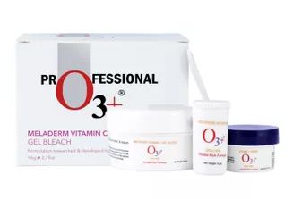 O3+ Meladerm Vitamin C Gel Bleach for Skin Whitening and Hair Lightening (96g)