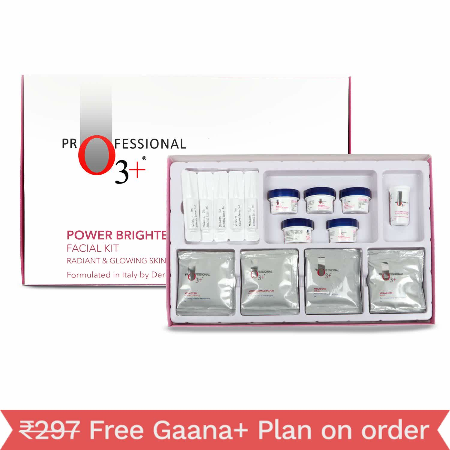 O3+ Power Brightening Facial Kit