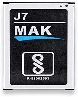 MMAK 3000 mAh Rechargeable Lithium ion Mobile Battery Compatible with Samsung Galaxy J7 Smartphone (J7)