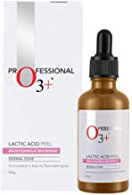 O3+ Lactic Acid 15% Peel for Face Pore Cleansing- Tightening Brightening Infused with Hyaluronic Acid