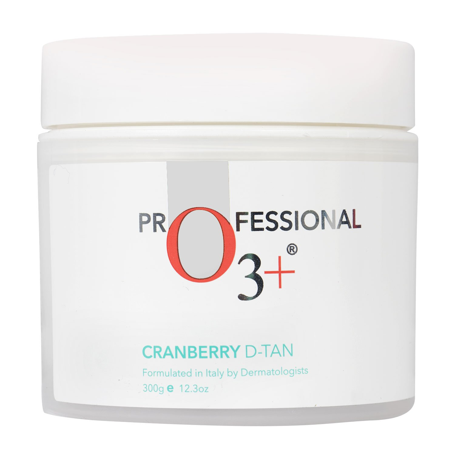 O3+ Cranberry D Tan with Natural Extracts for Tan Removal, Sun Damage Protection and Skin Whitening - For Oily Skin (De Tan 300 g)