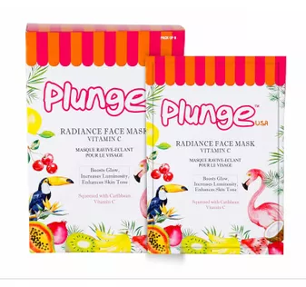 O3+ Plunge Natural Radiance Face Mask Vitamin C( Pack Of 6)