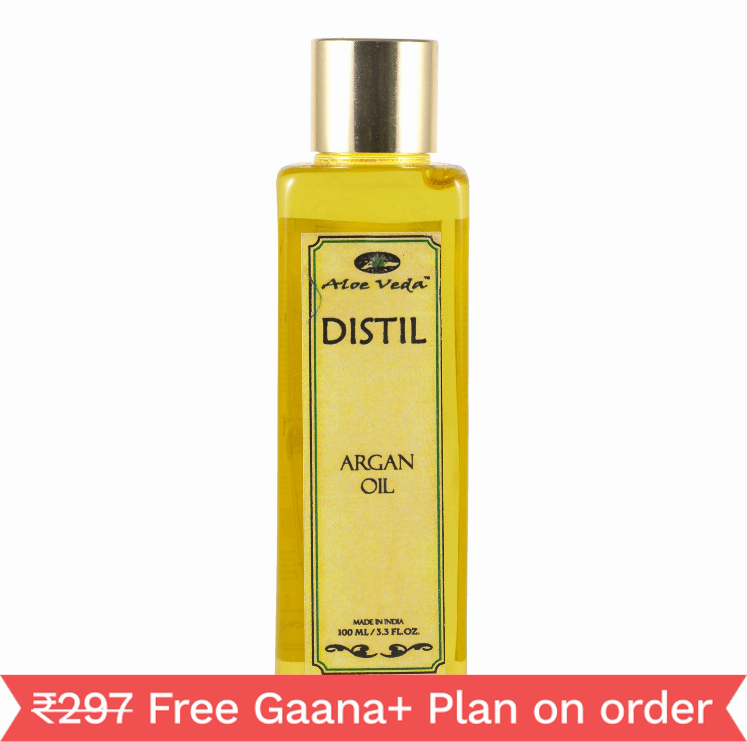Aloe Veda Distil Argan Oil (100ml)
