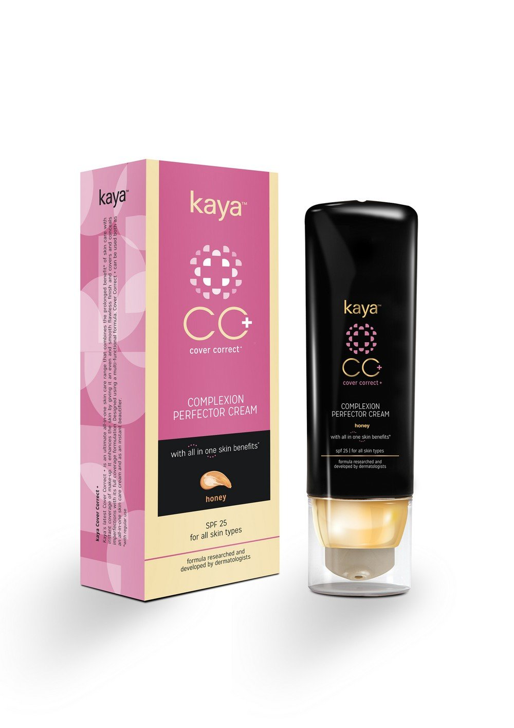 Kaya Skin Clinic Cover Correct Complexion Perfector Cream 30ML- Honey