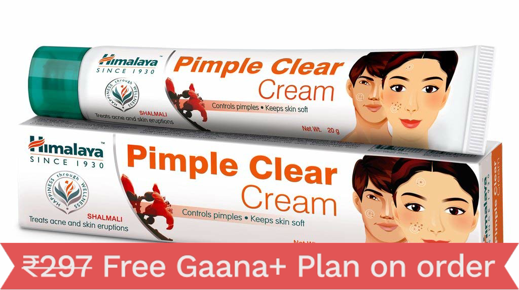 Himalaya Pimple Clear Cream 20Gm(Pack Of 5)