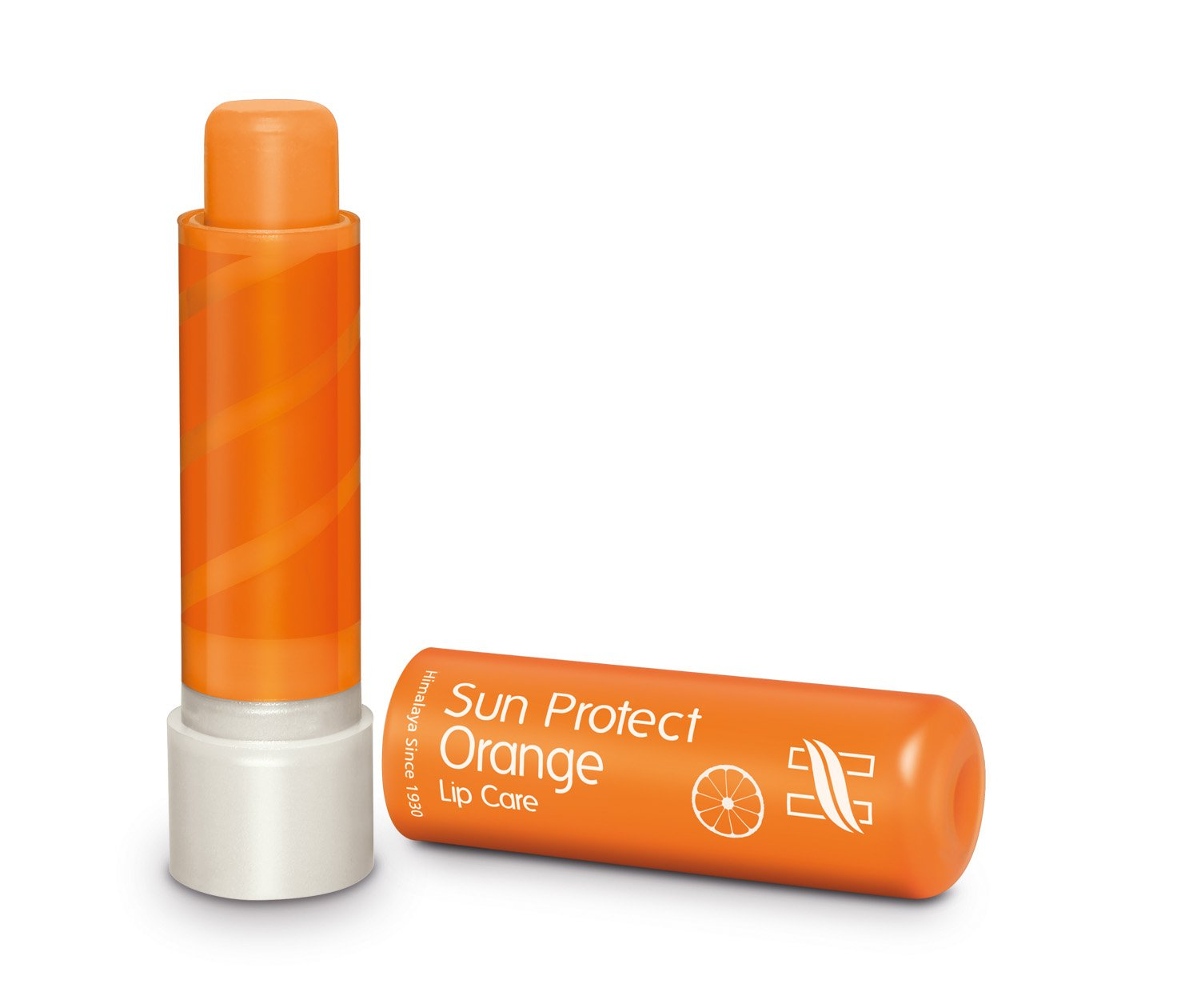 Himalaya Sun Proctect Orange Lip Care(Pack Of 2)