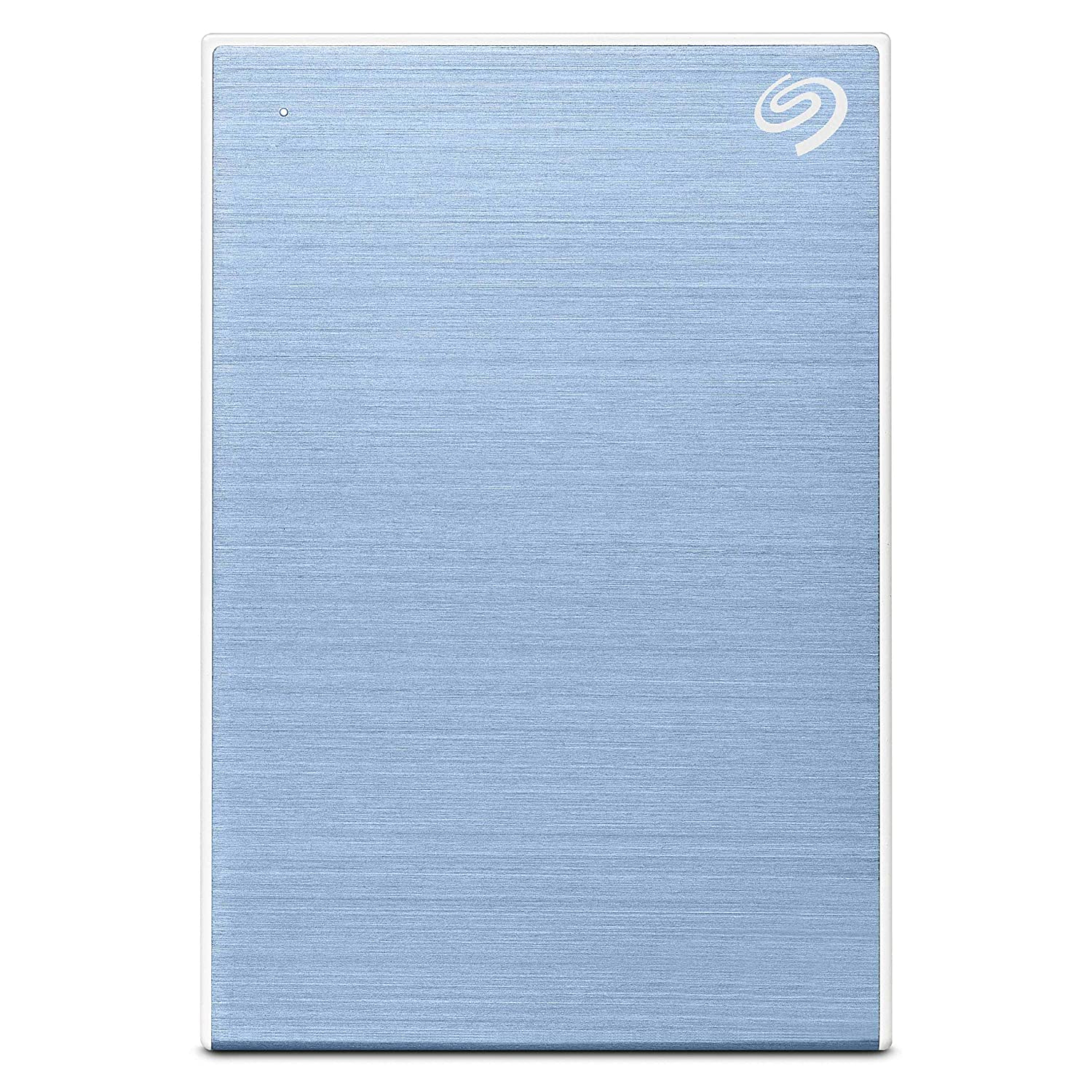 Seagate Backup Plus Slim 1????TB External Hard Drive Portable HDD ??????? Light Blue USB 3.0 for PC Laptop and Mac, 1 Year Mylio Create, 2 Months Adobe CC Photography (STHN1000402)
