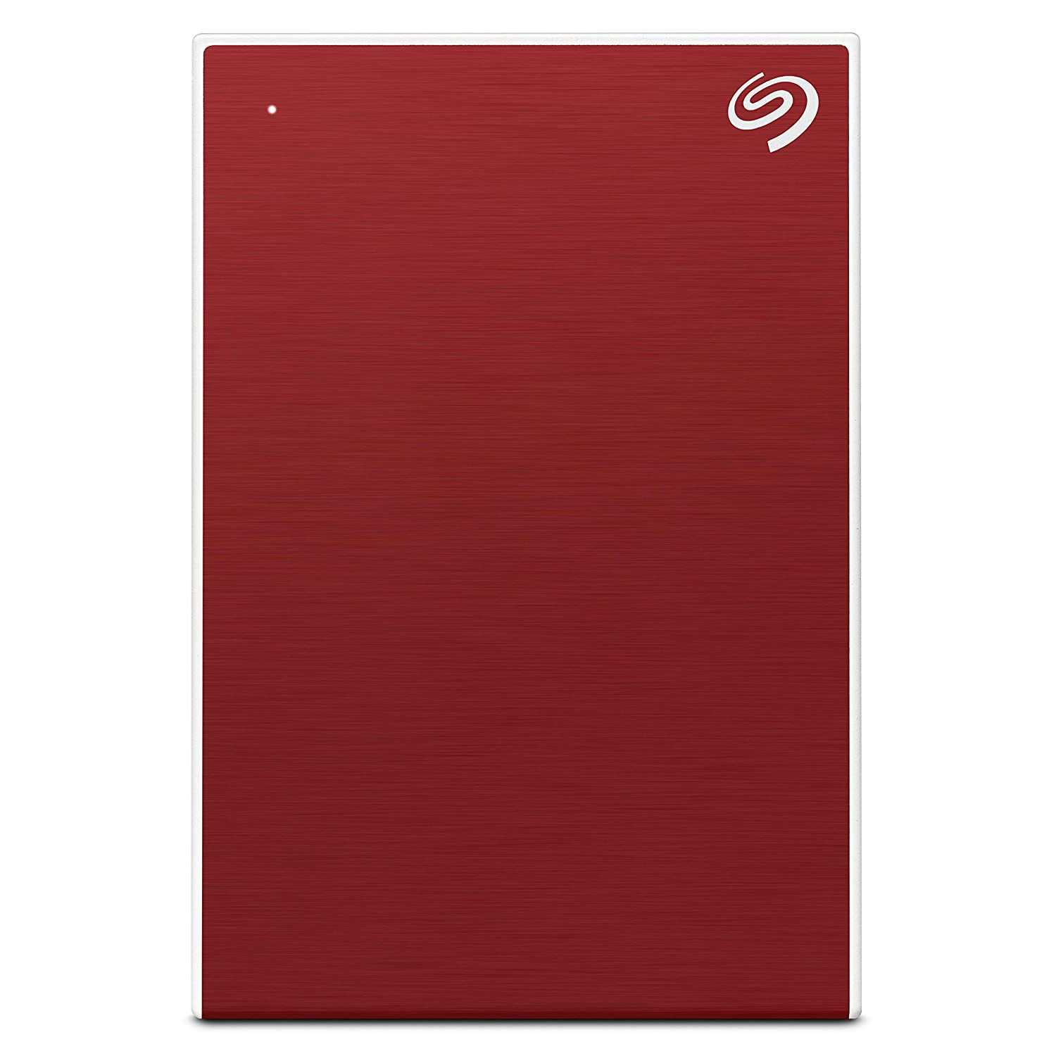 Seagate Backup Plus Portable 5 TB External Hard Drive HDD ??????? Red USB 3.0 for PC Laptop and Mac, 1 Year Mylio Create, 2 Months Adobe CC Photography (STHP5000403)