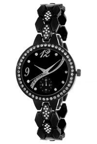 Fashionable Black Dial Analog Watch