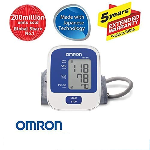 Omron Automatic HEM-8712 Upper Arm Blood Pressure Monitor