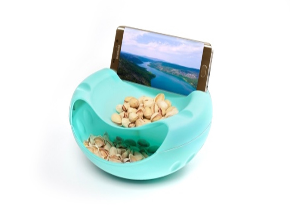 2 In One Bowl With Mobile Stand