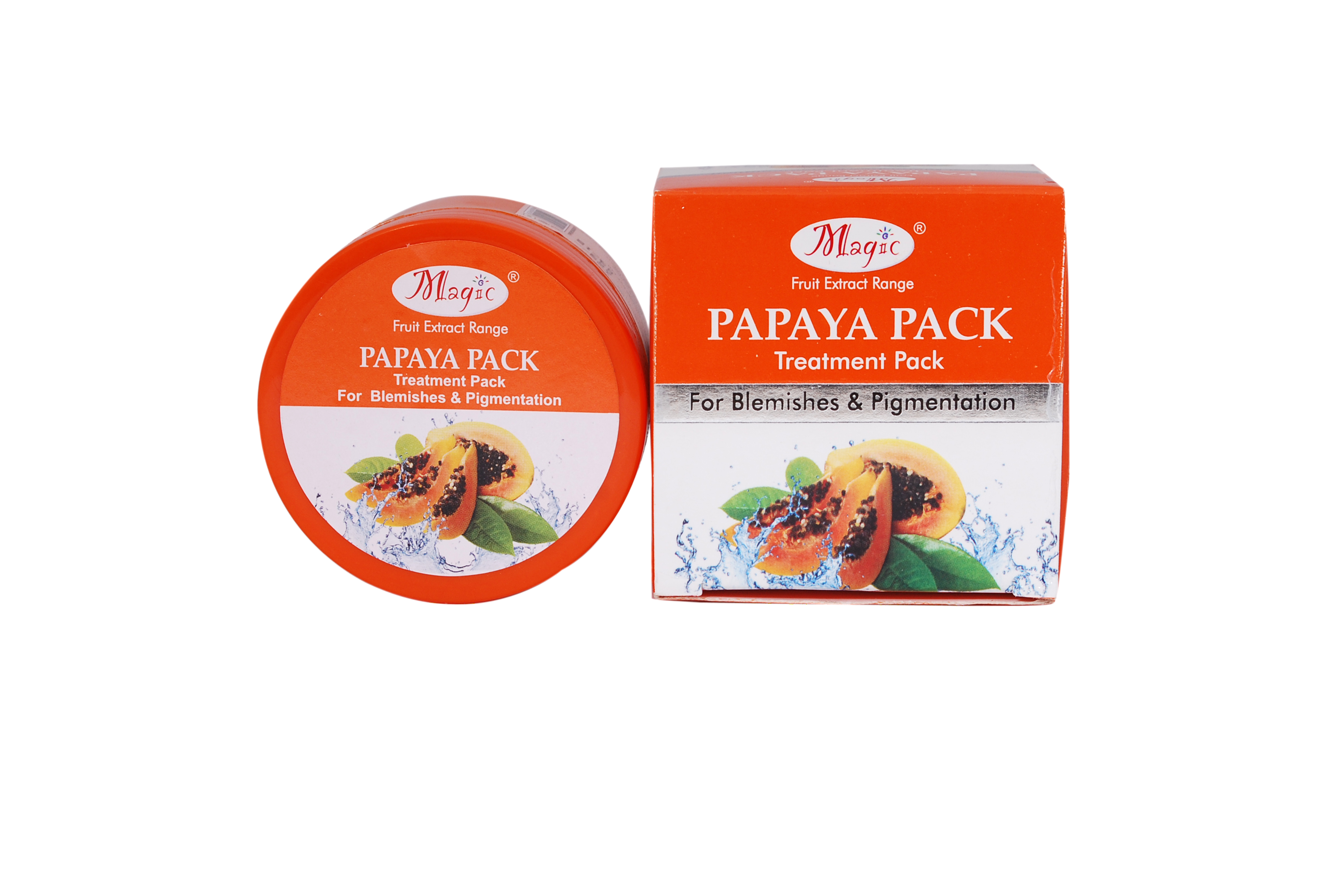 Nature's Essence PAPAYA PACK (for Blemishes & Pigmentation)60 GM (Pack Of 2)