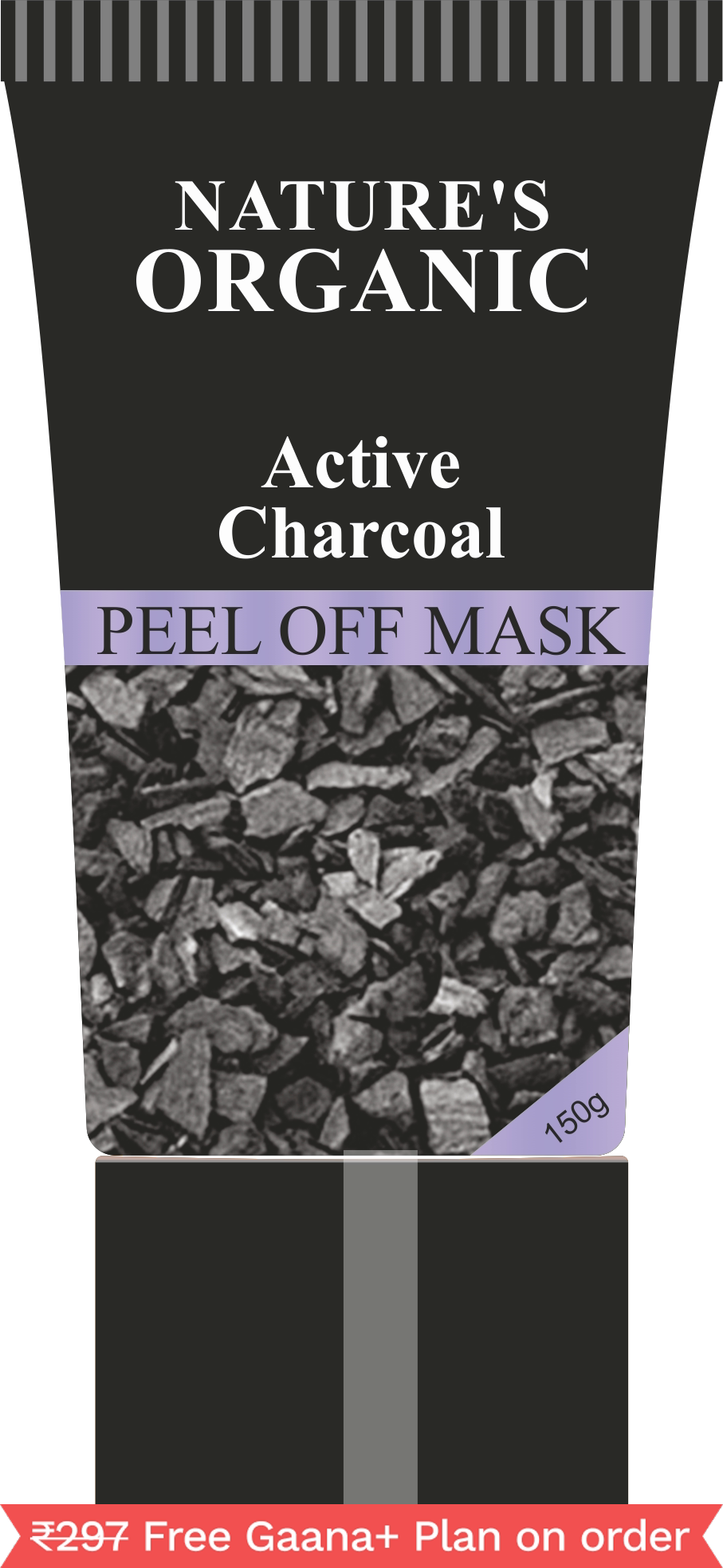 Nature's Essence Active Charcoal Peel Off Mask