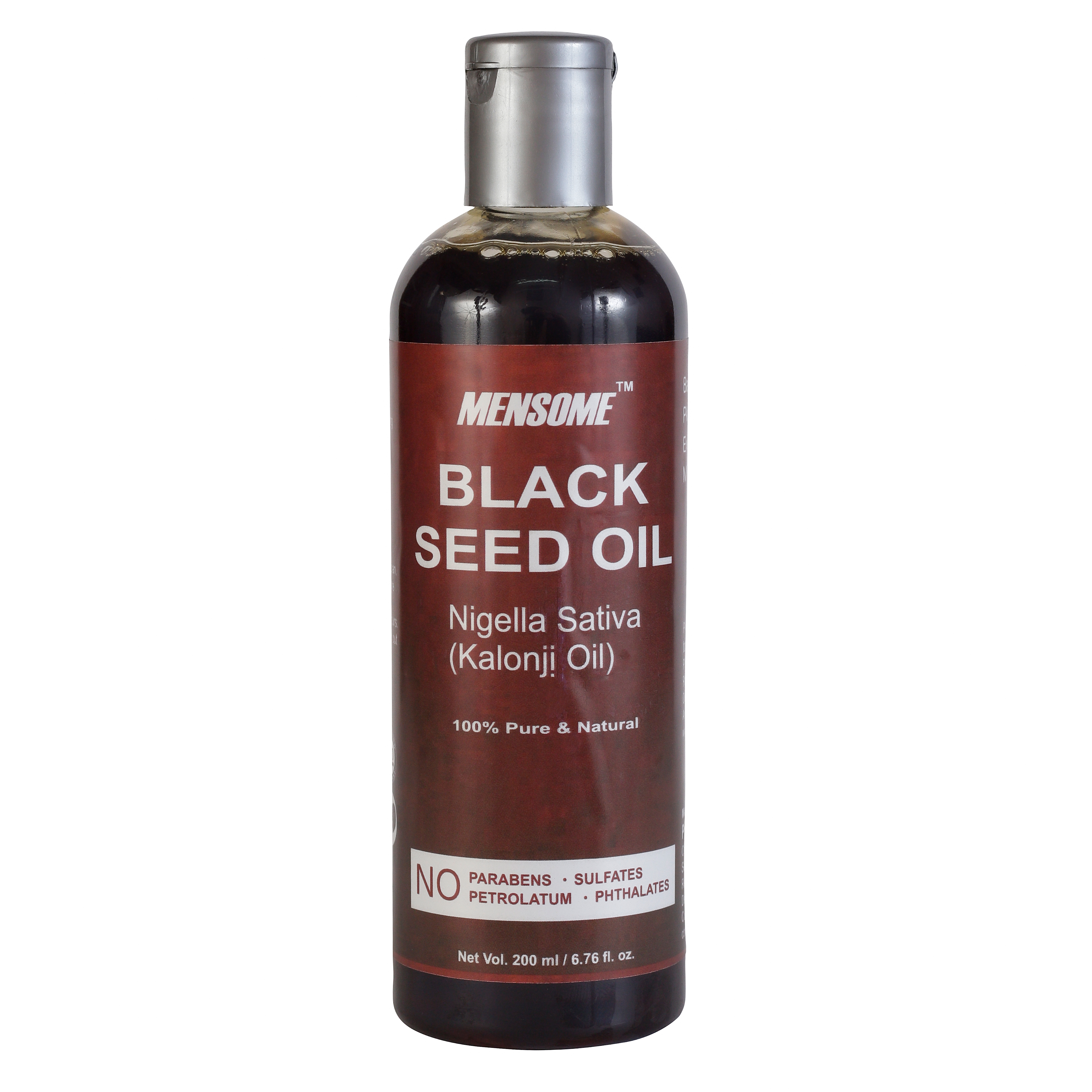MENSOME Black Seed Oil For Hair Growth And Skin Problems (200 ml)