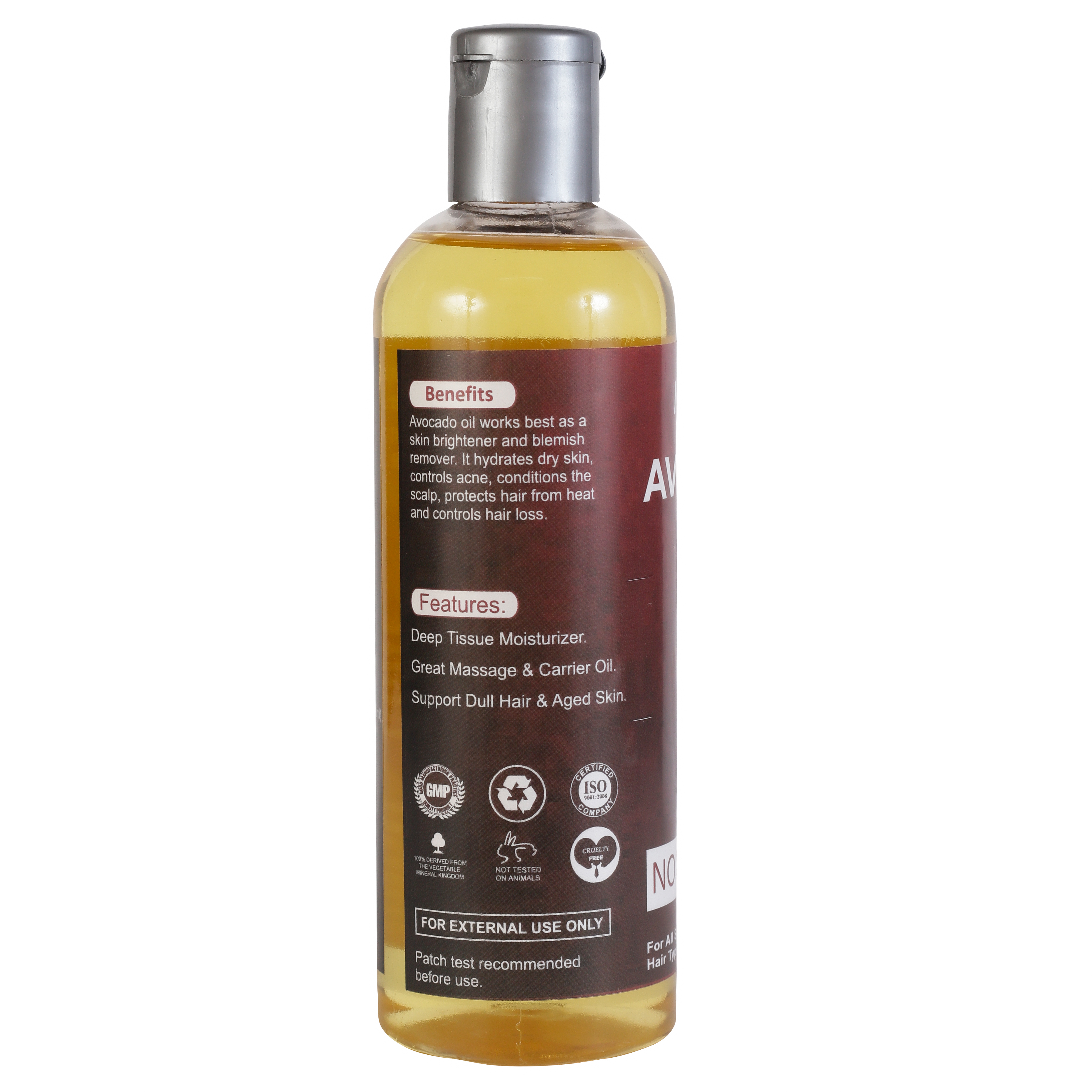 MENSOME Avocado Oil For Hair And Skin (200 ml)