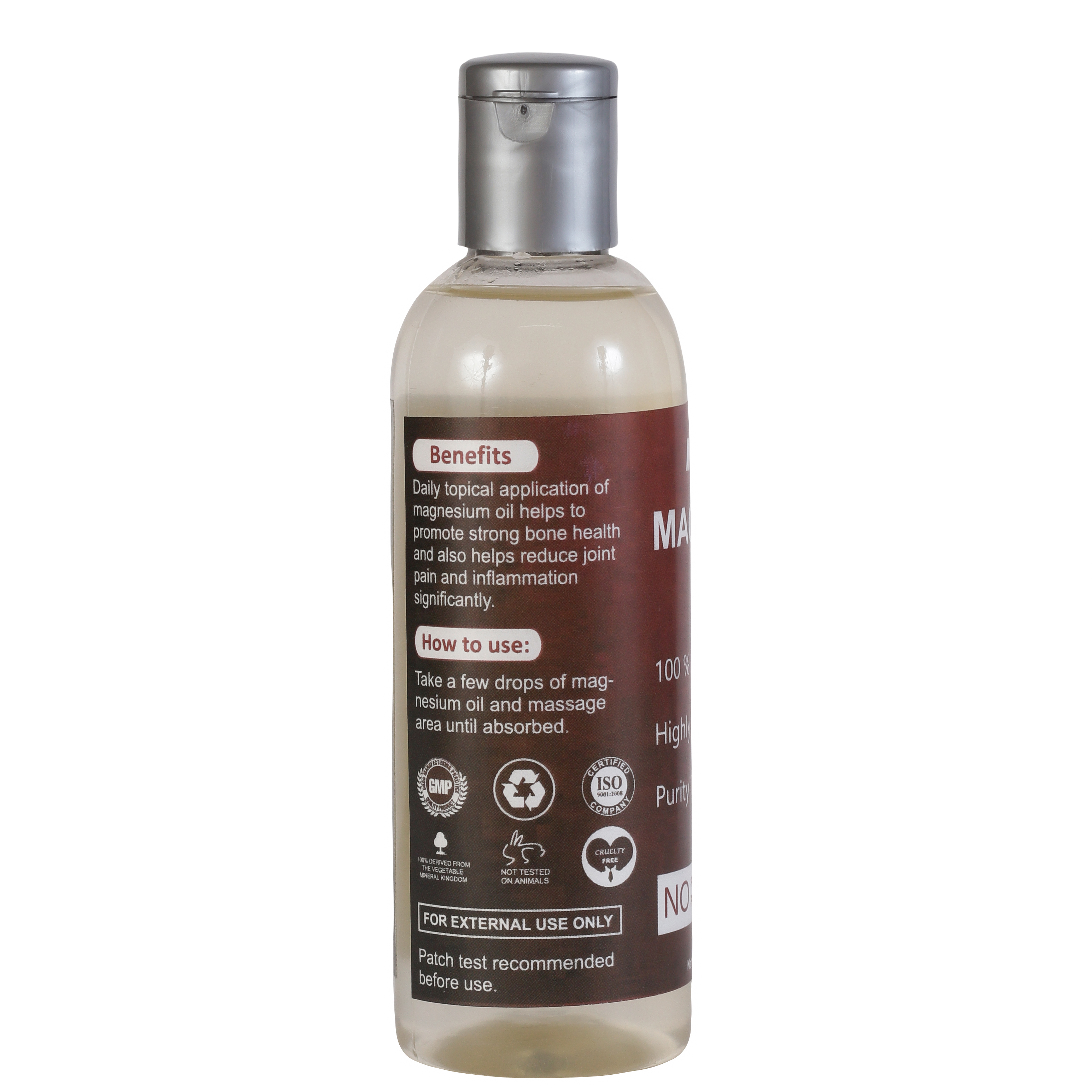 MENSOME Magnesium Oil For Joint Pain and Massage (100 ml)