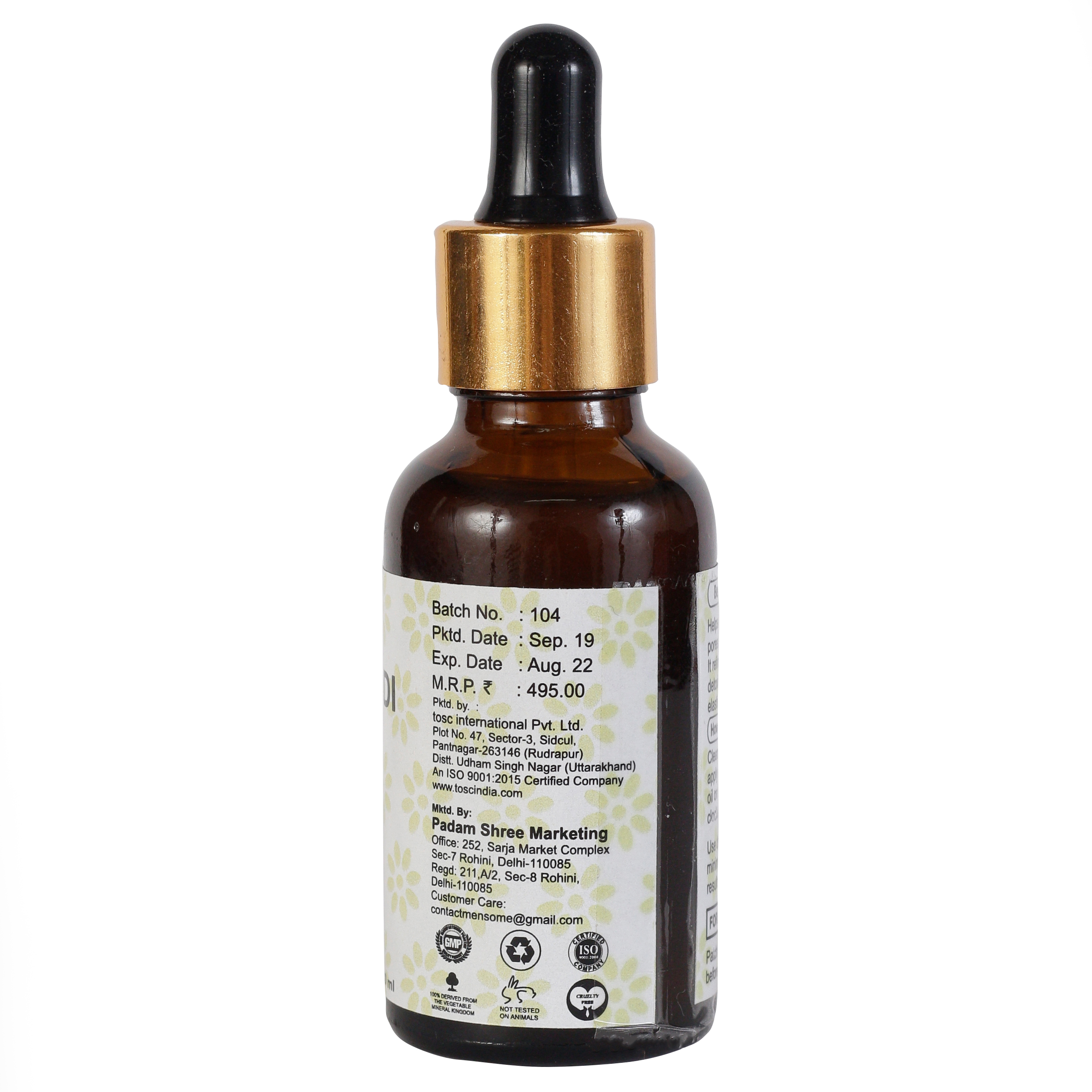 MENSOME Kumkumadi Tailam Oil for Face and Neck (30 ml)