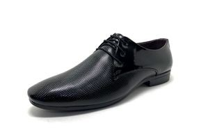 Castoes Men's Patent Leather Lace-Up Formal Shoes