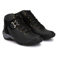 Castoes Men's Synthetic Leather Casual Boots