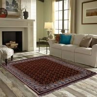 Zesture chennile cotton jacquard weaved heavy carpet