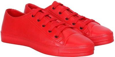 Snowking New Trendy Casuals Sneaker For Men (Red)