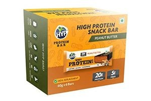 HYP Whey Protein Bar Pack of 6 (60g x 6) - Peanut Butter